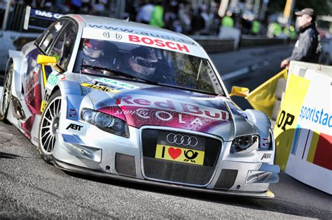 Dtm Touring Car  Audi A4 Editorial Stock Photo Image Of