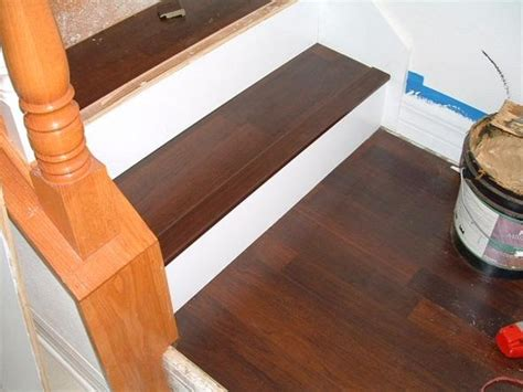how do you put laminate flooring do you want to install laminate flooring on your stairs 171 diy laminate floors
