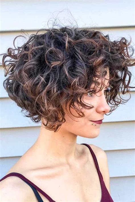 25 Curly Bob Ideas to Add Some Bounce to Your Look Short