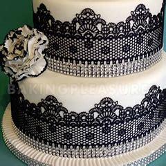 claire bowman cake lace mix black