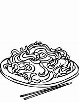 Coloring Pages Chinese Chow Mein Pyramid Rice Drawing Dumpling Foods Printable Easy Chain Template Drive Getcolorings Clipartmag sketch template
