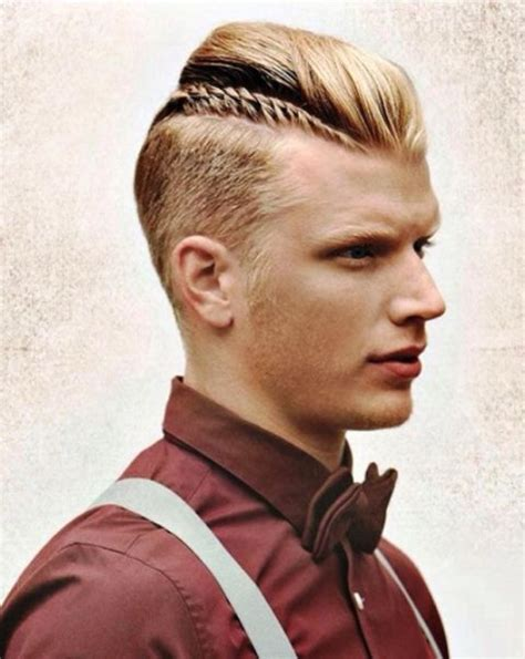 cool shaved side hairstyles  men styleoholic