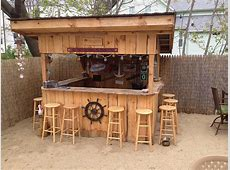 We Built Our Own Beach Bar – Shawn's Sand Bar and Grill