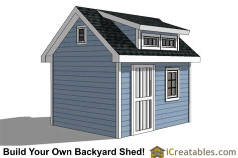 10x12 shed plans 10x12 shed plans with icreatables