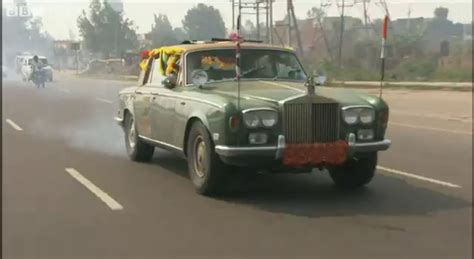 Rolls Royce Top Gear by Bentley Spotting Top Gear Special To India