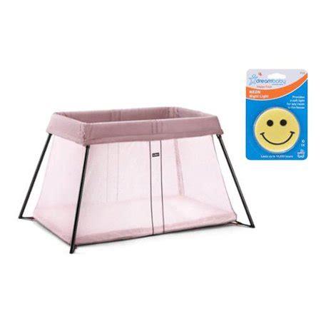 baby bjorn travel crib light baby bjorn 040255usk travel crib light pink with flying