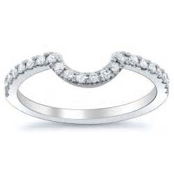 curved wedding band debebians jewelry top four wedding ring trends