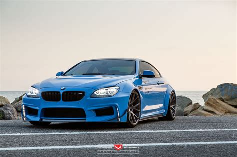 Bmw 650i With A Prior Design Widebody And Vossen Wheels