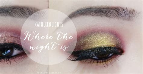 colourpop  kathleen lights   night  makeup