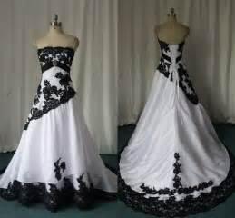 robe de mariã e gothique la mode des robes de robe gothique noir et blanc