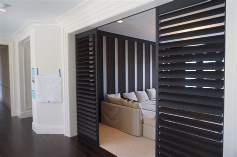 Have To It Tranquility Wooden Shutter Screen Room Divider