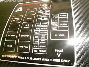 Engine Bay S15 Fuse Box English Fusebox S15 200sx Decal