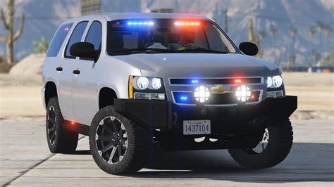 offroad police tahoe gta modscom