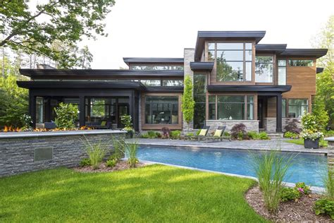 Modern Houses : Bachly Construction-elegant, Contemporary Luxury Home