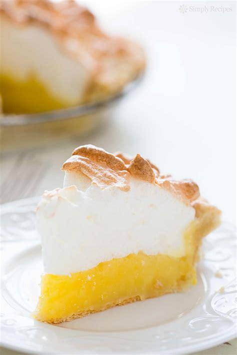 cuisine meringue lemon meringue pie recipe dishmaps