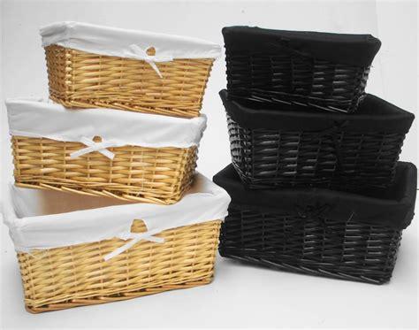 Furniture  Wicker Storage Basket Ideas To Make Your Room