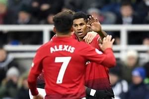 Newcastle 0-2 Man Utd: Marcus Rashford and Romelu Lukaku ...