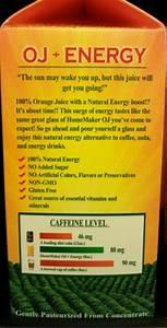 Do You Consider Orange Juice An Energy Drink