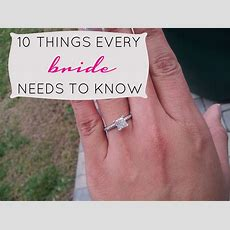 Sleepless In Diy Bride Country  10 Things Every Bride Needs To Know