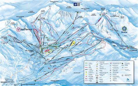 trail map les 3 vall 233 es val thorens les menuires m 233 ribel courchevel