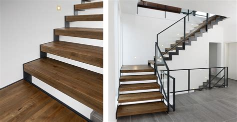 Stahl Holz Treppe by Krieger Treppen Gmbh Plz 56841 Traben Trarbach
