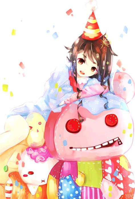 Anime Happy Birthday Wallpaper - 10 best images about kawaii chibi on