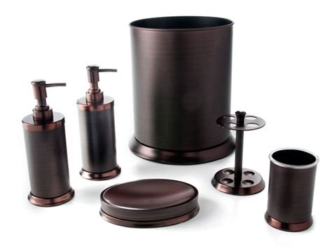 pembroke  pc oil rubbed bronze bath set