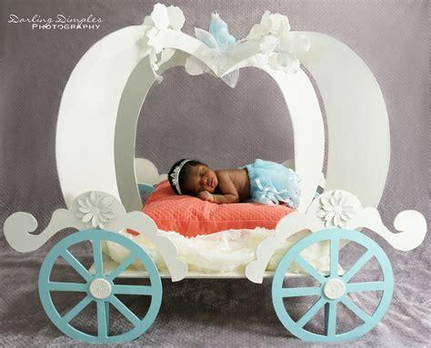 Cinderella Princess Tiara Pumpkin Carriage Prop Newborn