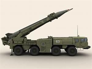 SCUD B Missile Launcher 3D Model – Buy SCUD B Missile ...