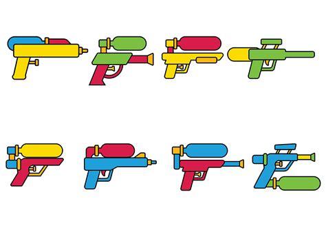 water gun clipart water gun vector free vector stock