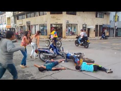 Trágico Accidente De Motos Youtube