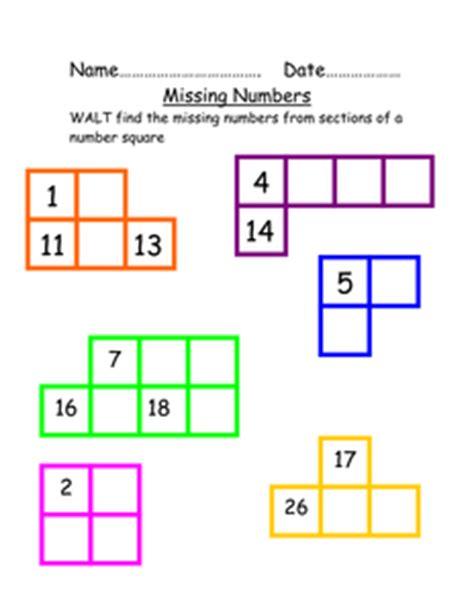 missing number worksheet new 657 missing number