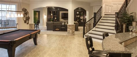 house plans with finished basement photo gallery of finished basements robert lucke homes