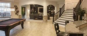 Photo Gallery of Finished Basements - Robert Lucke Homes