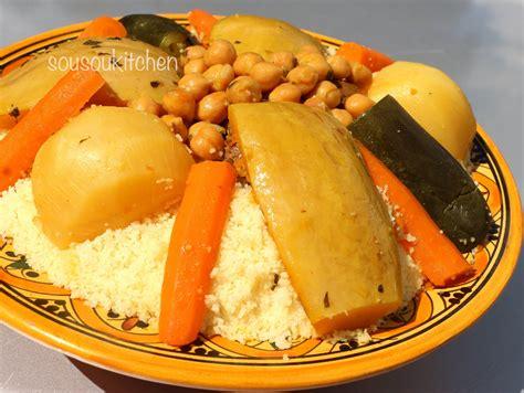 cuisine marocaine couscous recette de couscous au boeuf كسكس بلحم البقر couscous with