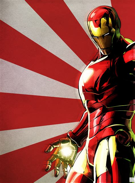 Iron Man Artwork by Iron Man By Nicollearl On Deviantart
