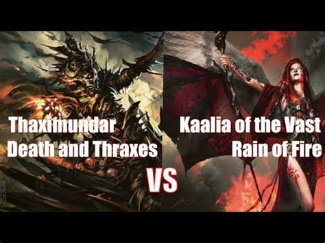kaalia of the vast commander deck mtg commander gameplay thraximundar vs kaalia of the vast