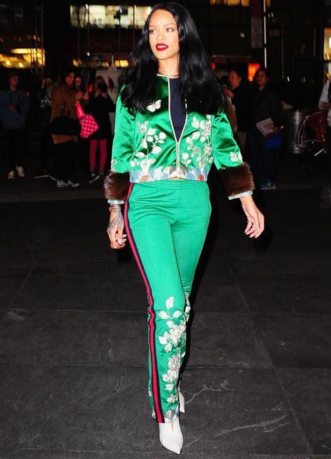 Rihanna's Gucci Tracksuit   InStyle.com