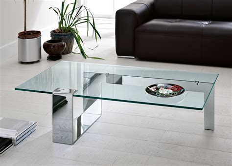 Plinsky Glass Coffee Table