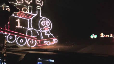 christmas lights at jones beach 2014 youtube