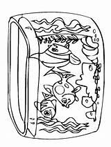 Fish Poisson Colorier Coloringhome sketch template