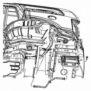 2012 Jeep Liberty Hose  Flow Valve To Canister
