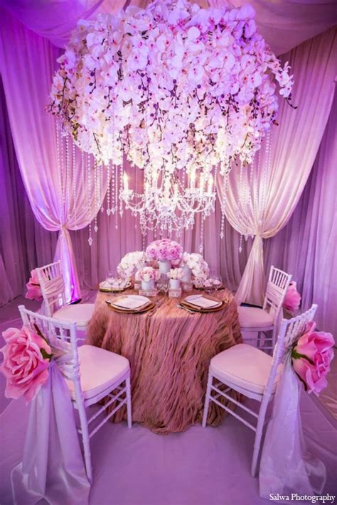 Indian Wedding Entrance Decoration by Indian Wedding Photographer Purple Pink White Yellow