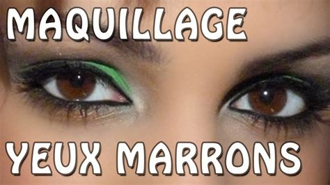 Maquillage Simple Yeux Marrons Maquillage Yeux Marrons