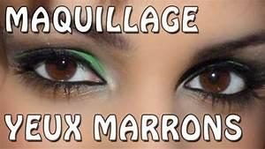 Maquillage Pour Yeux Marron : maquillage yeux marrons youtube ~ Carolinahurricanesstore.com Idées de Décoration