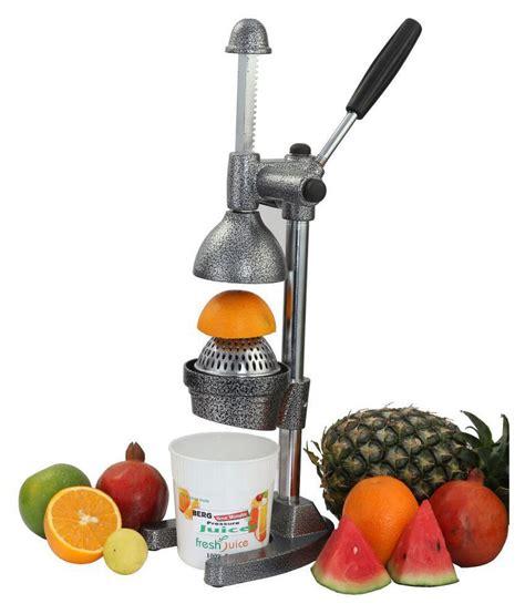 manual juicer grey installation