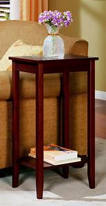 Dhp, Rosewood, Tall, End, Table, Simple, Design, Multi