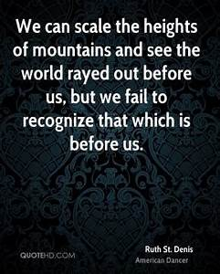 Heights Quotes ... Scale Mountain Quotes