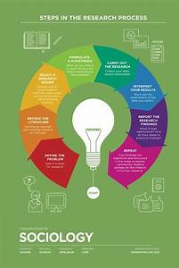 Steps In The Research Process  Infographic