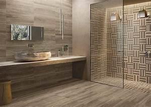 Carrelage Imitation Bois Salle De Bain : salle de bain moderne les tendances actuelles en 55 photos ~ Melissatoandfro.com Idées de Décoration